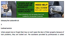 Glossary for Locksmith in Mukilteo  - Click here to download